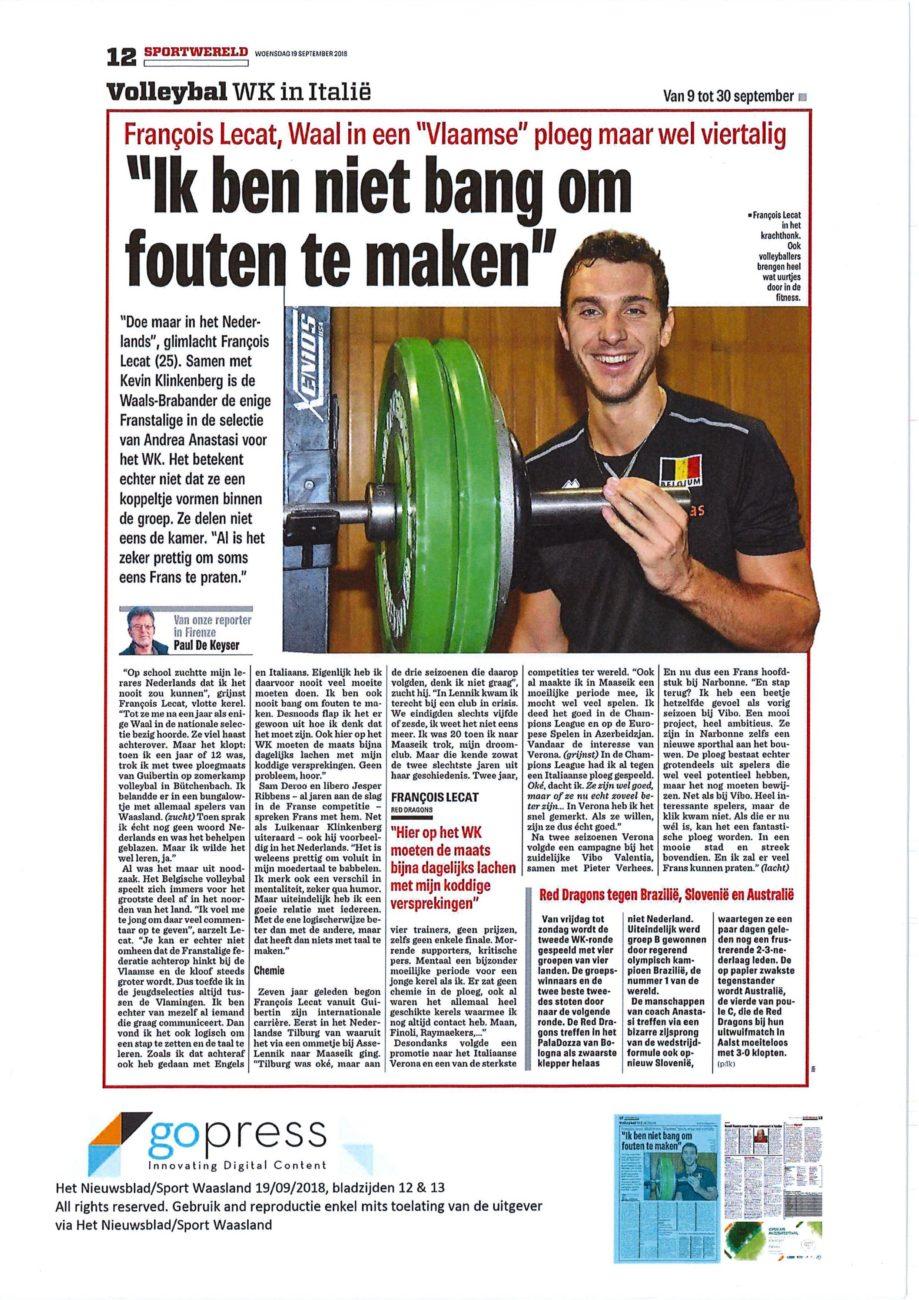 site de rencontres Van Het Nieuwsblad